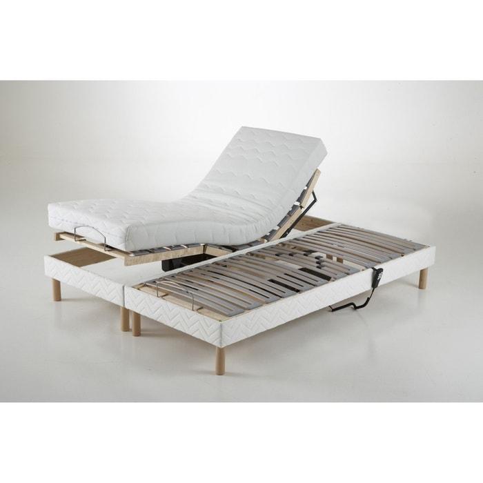 afbeelding Beklede bedbodem met verstelbaar hoofd- en voeteneinde REVERIE