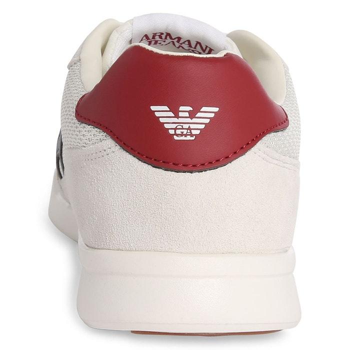 Basket armani jeans blanc Armani Jeans