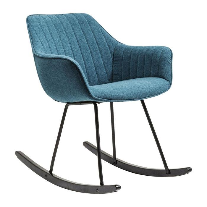 Fauteuil Rocking Chair Hamptons Kare Design Bleu Kare Design La - Fauteuil rocking chair