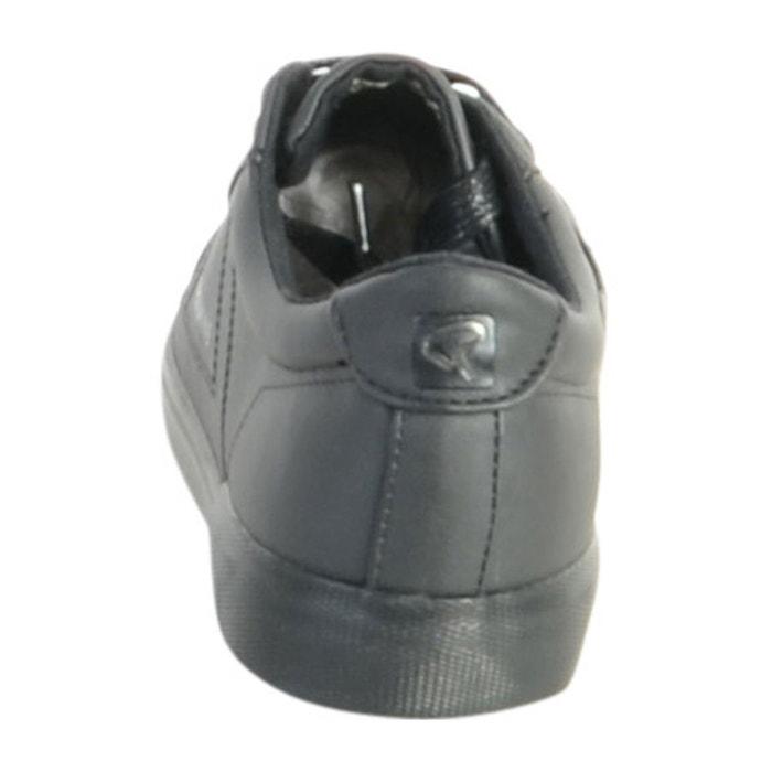 Basket sabaran noir+noir noir Redskins