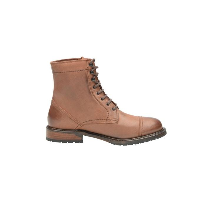 Boots captoe couleur tabac  tabak Shoepassion  La Redoute