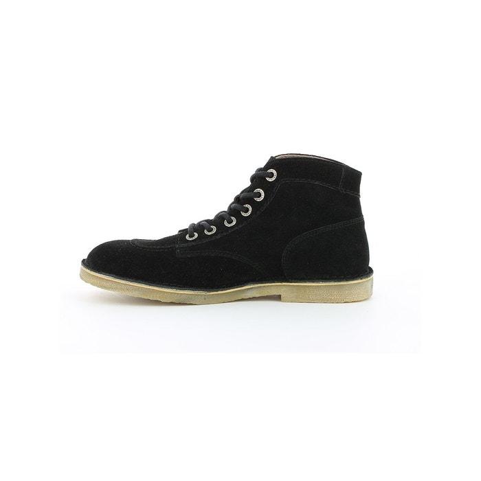 Boots et bottines cuir homme orilegend noir Kickers