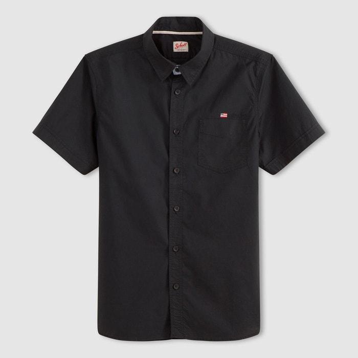 chemise manches courtes stamford schott la redoute. Black Bedroom Furniture Sets. Home Design Ideas