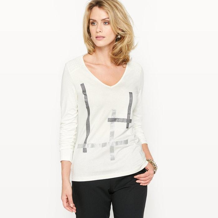 afbeelding Fantasie T-shirt, katoen & modal ANNE WEYBURN