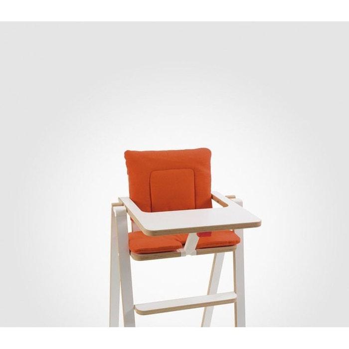 Coussin r ducteur chaise haute supaflat pumpkin pie orange supaflat la redoute - Coussin reducteur chaise haute ...