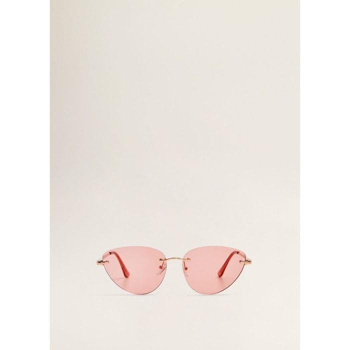 0db85477da Lunettes de soleil cat-eye rose Mango | La Redoute