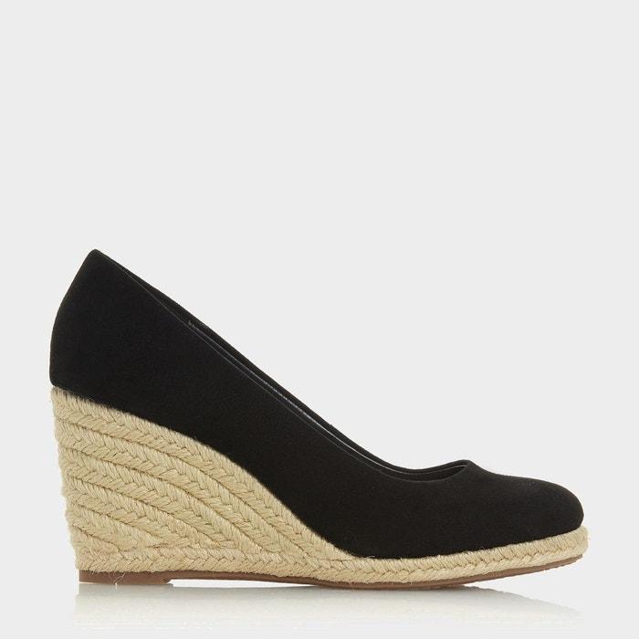 2b3ac880d958d Chaussures façon espadrille à talons compensés - annabela Dune London