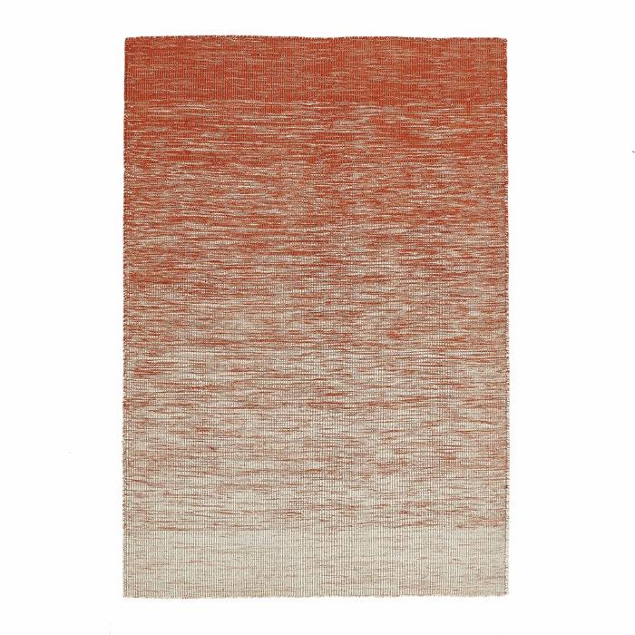 afbeelding Plat geweven tapijt in wol met kilim motief, Abradant AM.PM.