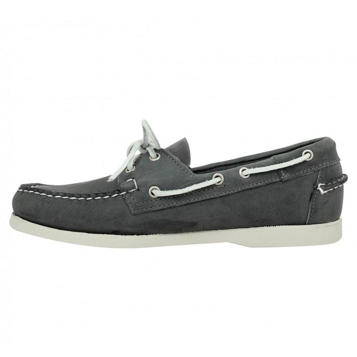 Chaussures bateaux homme sebago docksides velours homme gris gris Sebago