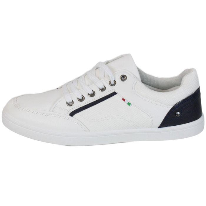 Baskets b107 blanc Kebello