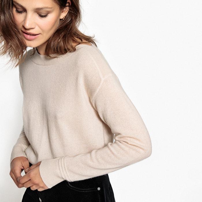 Пуловер с вырезом-лодочкой из кашемира  La Redoute Collections image 0