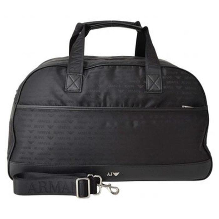 Armani Jeans sac de voyage noir KU6P4e6