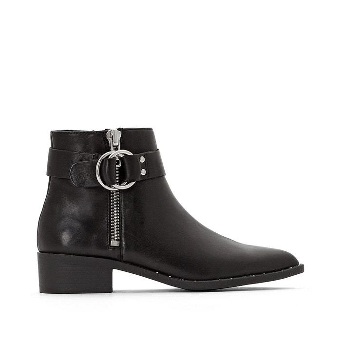 Joana Leather Ankle Boots  JONAK image 0