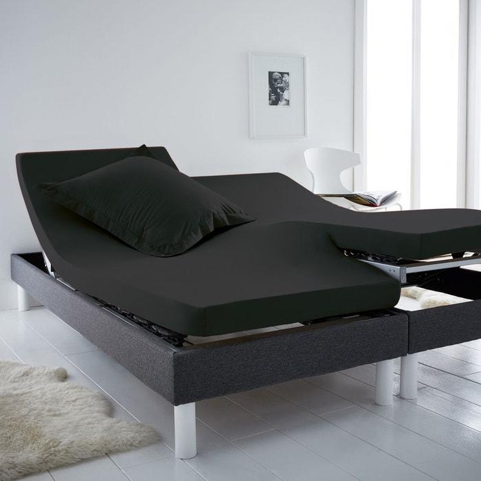 drap housse pour lit electrique pas cher drap housse uni. Black Bedroom Furniture Sets. Home Design Ideas