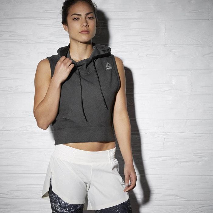 Sweat sans manches reebok combat training glory noir Reebok Sport ... d9fbd3a024b