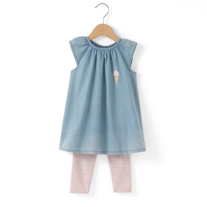 Image Ensemble 2 pièces (robe + legging) 1 mois - 3 ans R mini