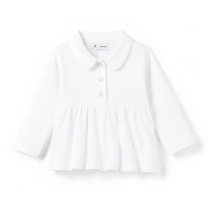 Image T-shirt col claudine 1 mois-3 ans R essentiel