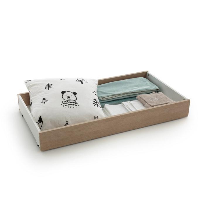 Cassetto letto ARCHIPEL, bianco/rovere  La Redoute Interieurs image 0