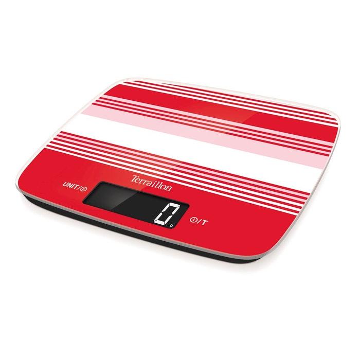 balance de cuisine lectronique keg63012by mycook rouge. Black Bedroom Furniture Sets. Home Design Ideas