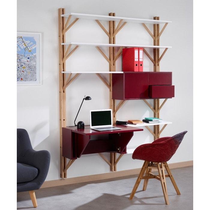 Bibliotheque avec bureau integre for Bibliotheque avec bureau integre