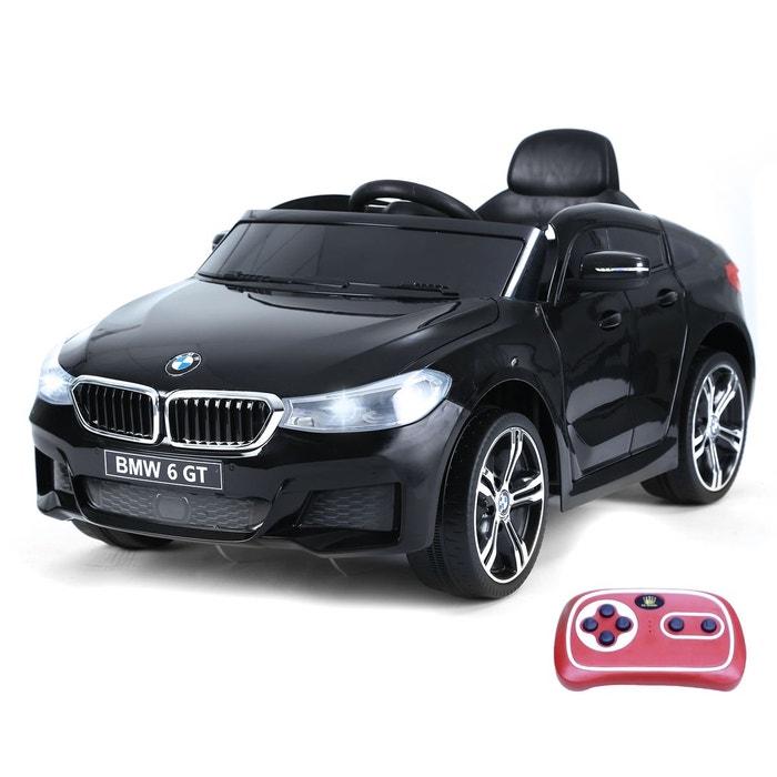 voiture lectrique enfants bmw i8 6 gt noire noir homcom. Black Bedroom Furniture Sets. Home Design Ideas