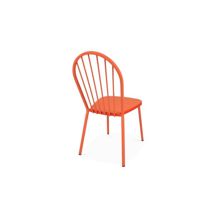 Chaise bistrot en métal, Honfleur