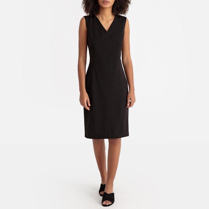 147bedeba43be7 Aansluitende jurk zonder mouwen La Redoute Collections