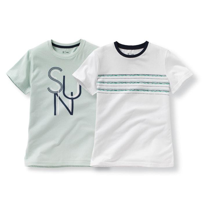 Imagen de Camiseta 10-16 años (lote de 2) La Redoute Collections