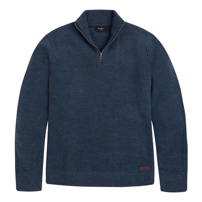 PEPE Jersey con MILE cuello cremallera alto JEANS BBrq7Ax0
