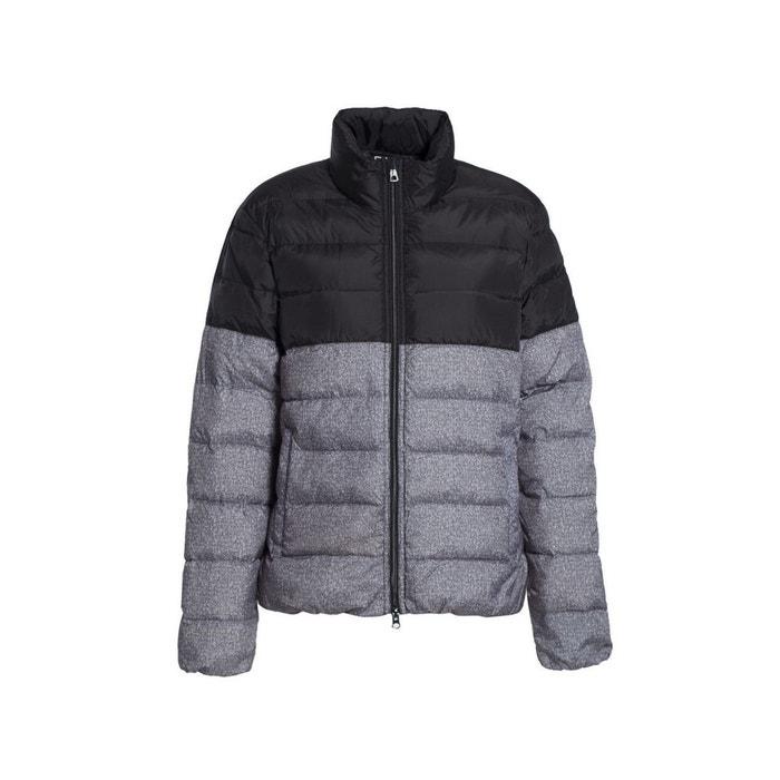 20007537dab5 Doudoune mountain m down medium jacket knit print noir Ea7   La Redoute