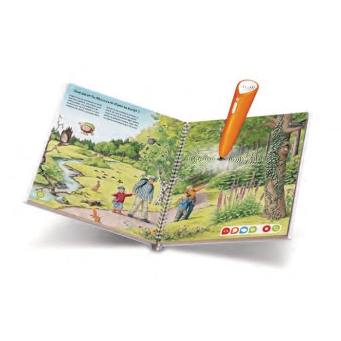 Tiptoi® - j'explore la forêt coloris unique Ravensburger | La Redoute
