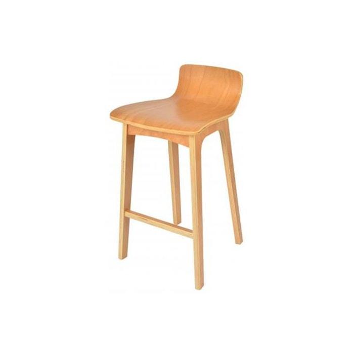 tabouret de bar scandinave la chaise longue bois pitaya couleur unique la chaise longue la redoute. Black Bedroom Furniture Sets. Home Design Ideas