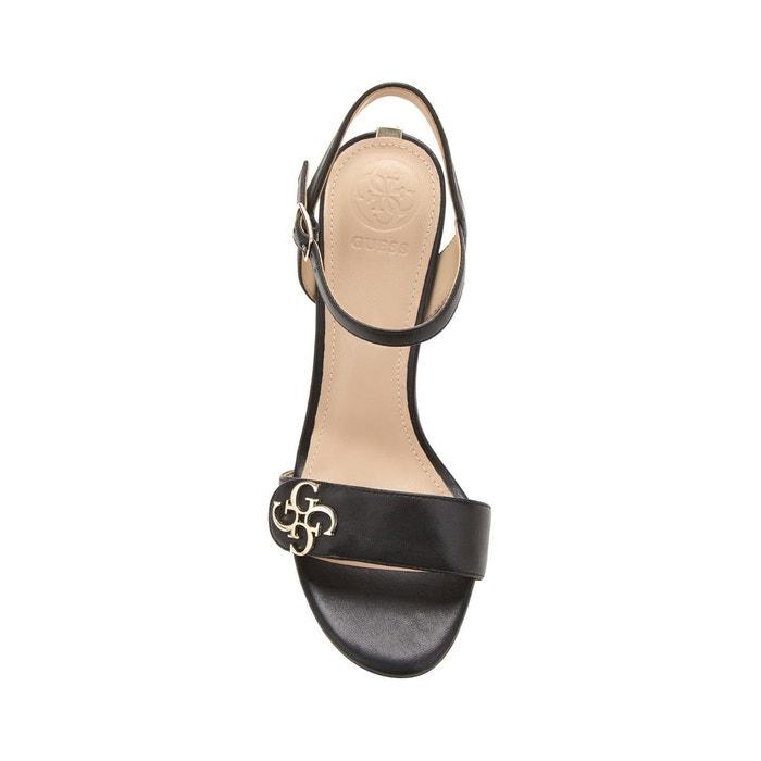 Sandale lami cuir Guess