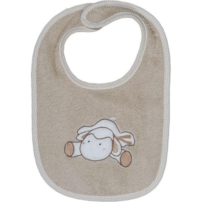 Bavoir b b scratch doudou mouton ficelle sensei la maison for La maison du bebe