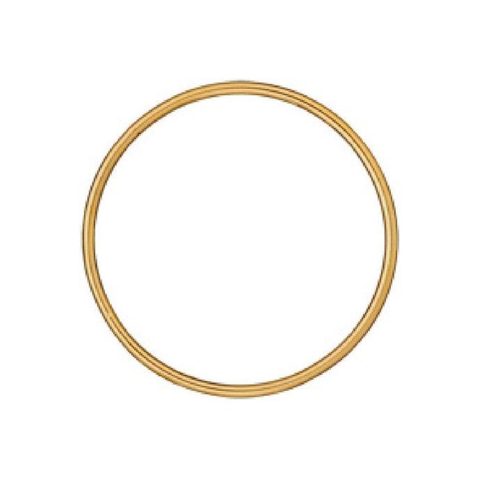 Bracelet femme rigide 62 mm fil 3 mm plaqué or 750 couleur unique So Chic Bijoux | La Redoute Vue La Vente En Ligne Payer Avec Le Prix Pas Cher Paypal WxpULC7AcK