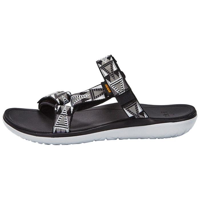 Terra-float lexi - sandales femme - gris/noir noir Teva