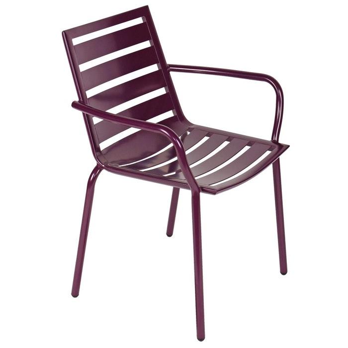Fauteuil de jardin design panama zendart design zendart la redoute for Fauteuil salon de jardin la redoute