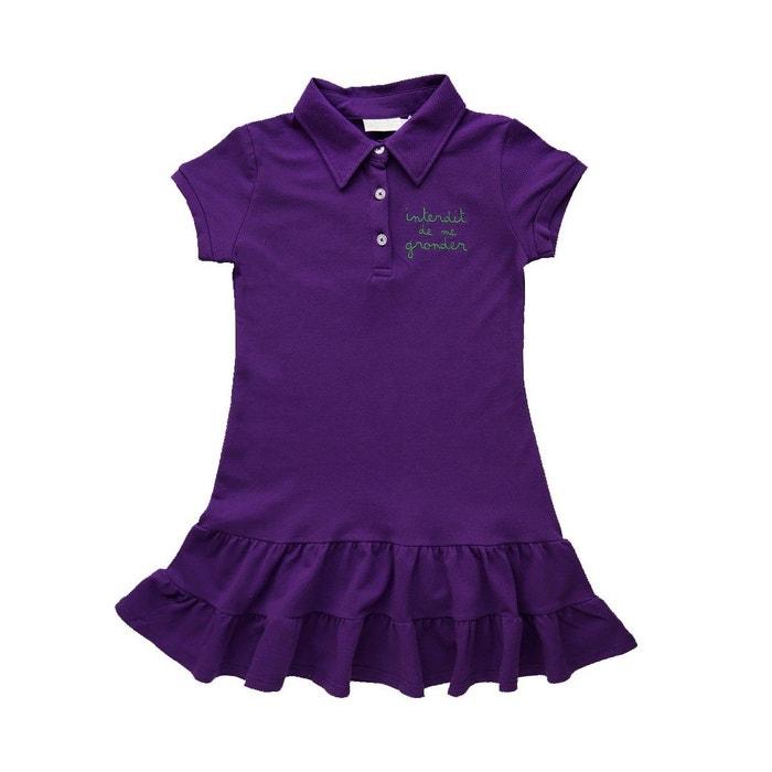 robe fille summer violet interdit de me gronder la redoute. Black Bedroom Furniture Sets. Home Design Ideas