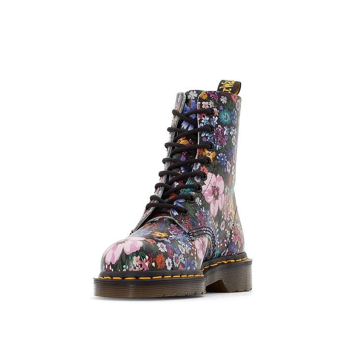Boots cuir à lacets Pascal WL - DR MARTENS - Imprimé FleuriDr. Martens bq5OxG