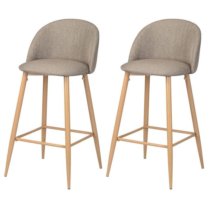 chaise de bar cozy lot de 2 rendez vous deco la redoute. Black Bedroom Furniture Sets. Home Design Ideas