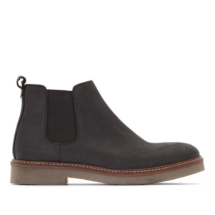 f90f4011240d8b Boots cuir oxfordchic noir Kickers | La Redoute