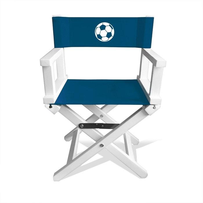 fauteuil enfant bleu p trole motif ballon blanc bleu p trole les griottes la redoute. Black Bedroom Furniture Sets. Home Design Ideas