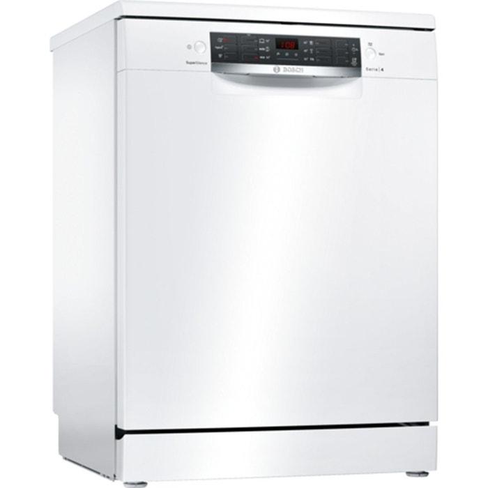 Lave vaisselle 60 cm supersilence sms46iw13e blanc bosch la redoute - La redoute vaisselle ...