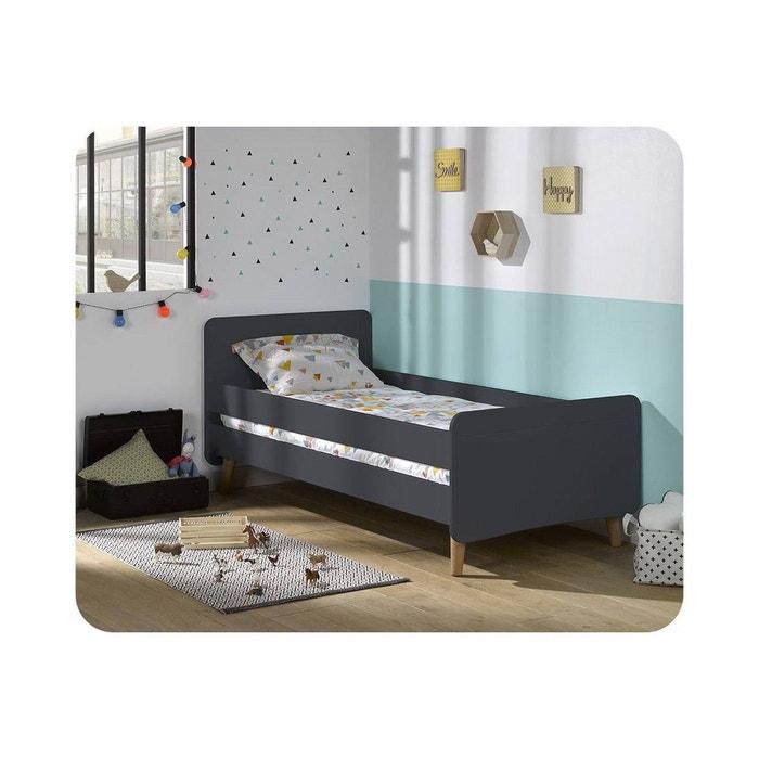 lit enfant willow 90x190 cm avec pieds ma chambre d 39 enfant. Black Bedroom Furniture Sets. Home Design Ideas