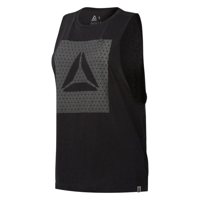 T-shirt scollo rotondo senza maniche  REEBOK image 0