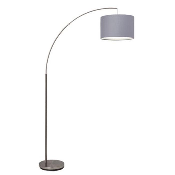 clarie lampadaire gris h180cm couleur unique brilliant la redoute. Black Bedroom Furniture Sets. Home Design Ideas