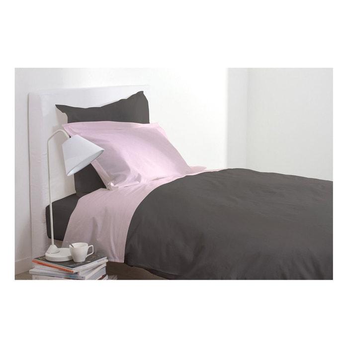 drap plat 180 x 290 cm chocolat chocolat atmosphera la redoute. Black Bedroom Furniture Sets. Home Design Ideas
