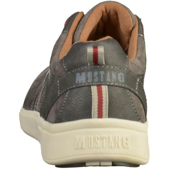 Sneaker gris foncé Mustang