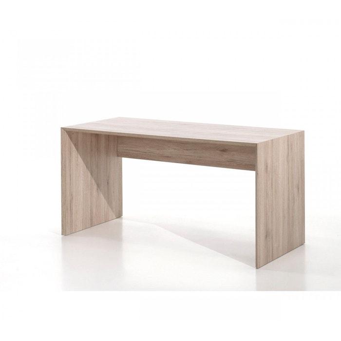 bureau enfant imitation ch ne bu2008 terre de nuit bois naturel terre de nuit la redoute. Black Bedroom Furniture Sets. Home Design Ideas