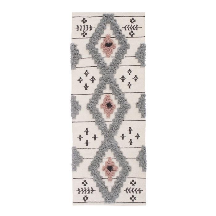 tapis de couloir style berb re melines la redoute interieurs gris blanc rose la redoute. Black Bedroom Furniture Sets. Home Design Ideas